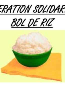 OPÉRATION BOL DE RIZ